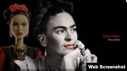 Мексиканська художниця Фріда Кало стала прототипом ляльки Барбі