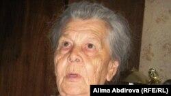 Пелагея Калинкина, родственница Василия Шмидта, бывшего работника ДГОКа. Актюбинская область, Хромтау, 31 мая 2011 года.