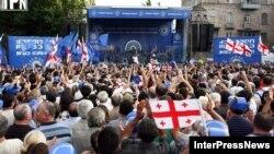 """На митинге """"Грузинской мечты"""", Гори, 15 июля 2012"""