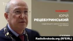 Суддя Вищого адміністративного суду України Юрій Рецебуринський, кандидат до Верховного суду