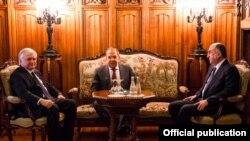 Azərbaycan, Rusiya və Ermənistan xarici işlər nazirlərinin Moskva görüşü