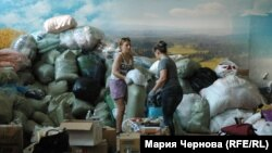 Иркутскехь зенаш хиллачарна гIо кхачийна волонтераша