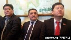 Бишкек мэрине талапкер Албек Ибраимов ортодо