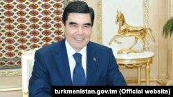 Түркмөнстандын президенти Гурбангулы Бердымухамедов.