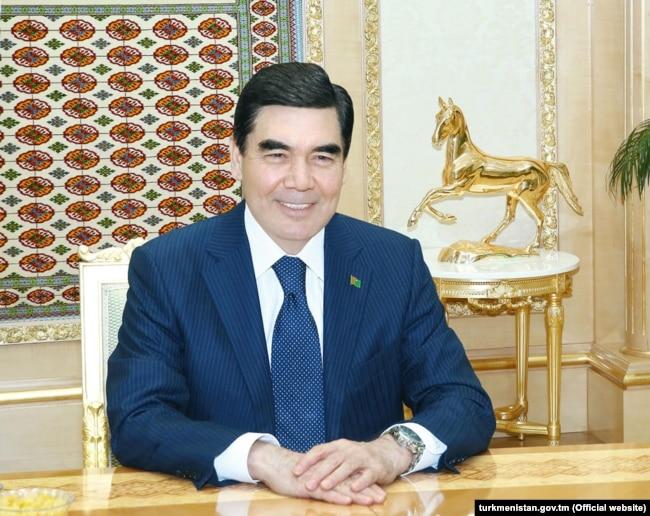 "Turkmen President Gurbanguly Berdymukhammedov is known by the honorific ""arkadag,"" or ""protector."""