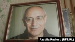 Rafiq Tağının portreti
