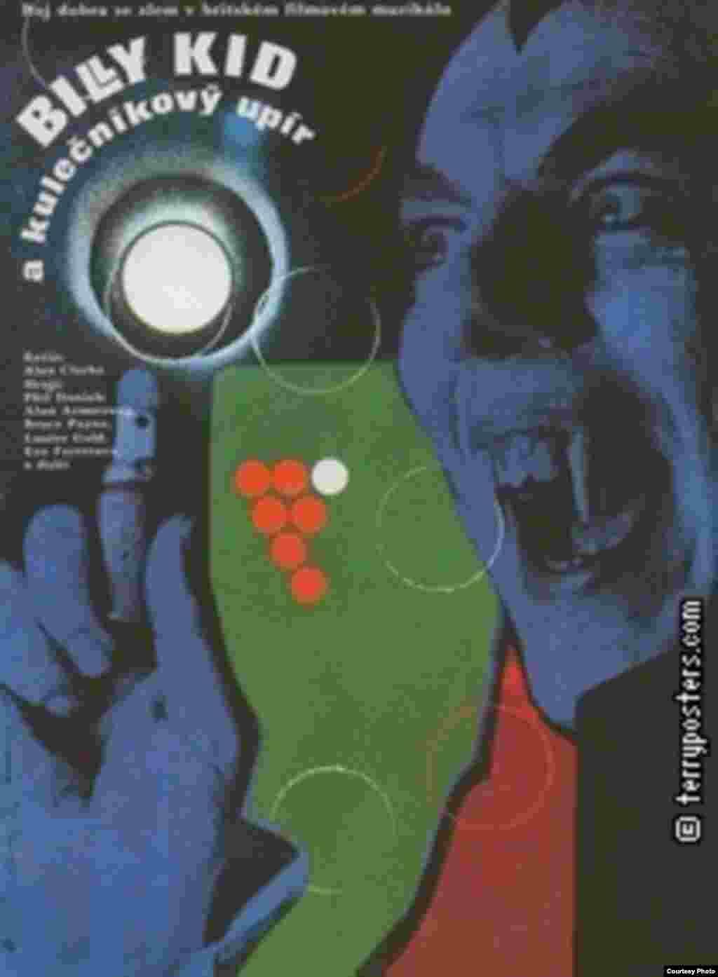 Billy The Kid and the Green Baize Vampire, UK, 1986, Věra Nováková, courtesy Terry Posters