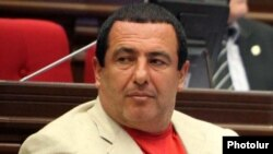 Prosperous Armenia Party leader Gagik Tsarukian in parliament in May 2011