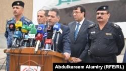 وزير الداخلية محمد الغبان يتحدث في البصرة