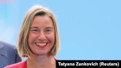 Shefja e politikës së jashtme të Bashkimit Evropian, Federica Mogherini.