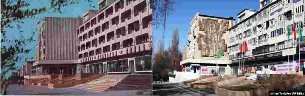 Фрунзе-Бишкек. Шаардын түштүк дарбазасы.