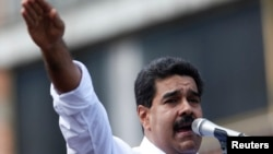 Президент Венесуэлы Николас Мадуро.