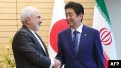 محمدجواد ظریف هفته گذشته به توکیو سفر کرد
