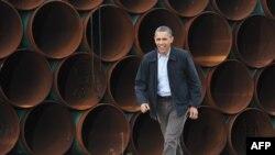 Барак Обама відвідав чотири американських штати