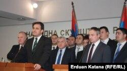 Opozicioni lideri u RS, Vukota Govedarica i Branislav Borenović