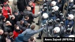 Protesti kojim je tražena smena Jablanovića, foto: Amra Zejneli
