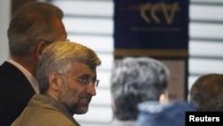 سعید جلیلی، مذاکره کننده ارشد ایران در مذاکرات ژنو در روز دوشنبه