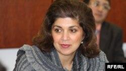 Фарах Пандит, спецпредставитель Госдепартамента США в мусульманском сообществе. Алматы, 13 октября 2009 года.