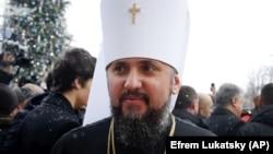 Митрополит Епіфаній, глава Православної церкви України