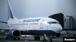 """Трансаэро"" һава ширкәтенең Боинг-737 очкычы"