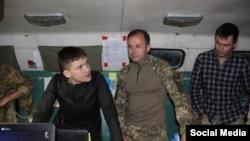 Надежда Савченко приехала в штаб АТО в Донбассе