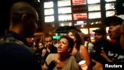 Реакция людей на объявление о невиновности Циммермана