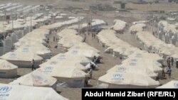 مخيم للاجئين سوريين في أربيل