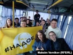 Задержанные на митинге в Екатеринбурге