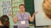 Мария Шнайд на фестивале языков в Чебоксарах представила иврит