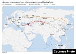 """Многочисленные """"шелковые пути"""" КНР в XXI веке"""