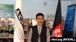 مسعود وحدت مدیر صادرات اتاق تجارت و صنایع در ولایت کندز