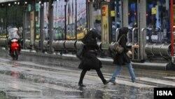 آبگرفتگی در خیابانهای تهران