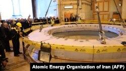 نمایی از راکتور آب سنگین اراک