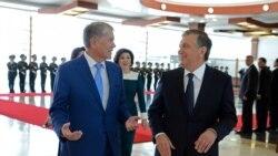 Özbek, gyrgyz prezidentleri duşuşdylar