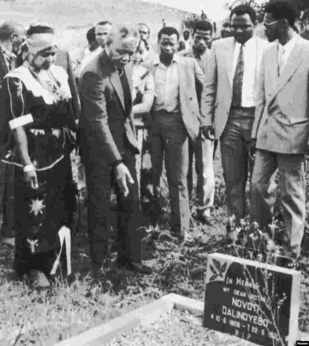 یک سال پس از آزادی به ریاست کنگره ملی آفریقا رسید.