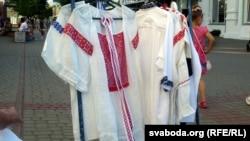 Беларускія сарочкі-вышыванкі