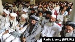 Афганистан: собрание гражданских активистов в провинции Хост, 17 октября 2016 года.