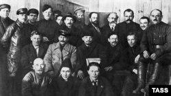 Сталин Иосиф, Ленин Владимир, Калинин Михаил, 1919 шо