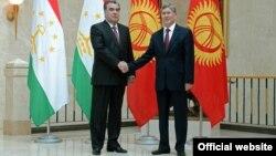 Президенты Таджикистана и Кыргызстана