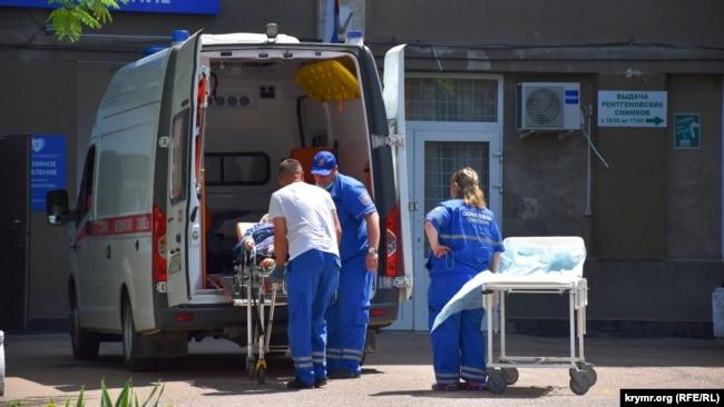 Доставка больного «скорой помощью» в Севастополе