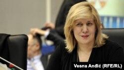 Дуня Миятович, представитель ОБСЕ по вопросам свободы СМИ.