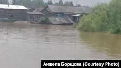 Вторая волна наводнения в Тайшетском районе Приангарья