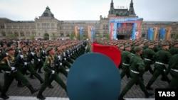 Російська армія. Парад. Москва. Травень 20018 року