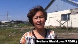 Өндіріс тұрғыны Әсел Ғазизова. Астана, 24 маусым 2014 жыл.