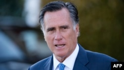 U.S. Republican Senator Mitt Romney (file photo)