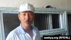 Базарбай Таскынбаев, представитель строительной компании «Акнур строй». Шымкент, 27 августа 2014 года.