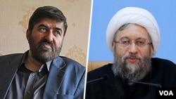 علی مطهری از صادق لاریجانی خواسته است برای رفع ادامه حصر خانگی رهبران جنبش سبز اقدام کند.