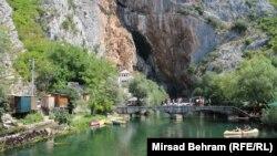 Selo Blagaj u ljetnjem periodu