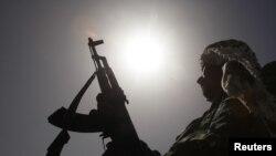 Ливия мухолифатининг қуролли тарафдори.