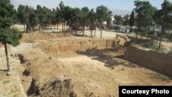 گورستان گلستان جاوید شیراز: عکس از http://news.bahai.org/